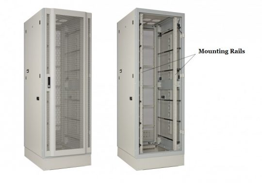 For Instance 2 Post Rack 4 Network As A Feature Of Server 19 Inch It Has Mounting Rails To Mount Equipment